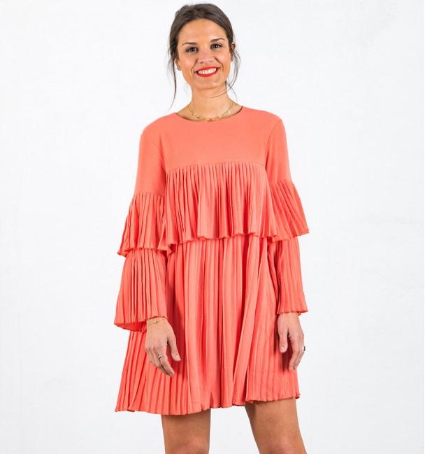 Vestido Mulher Noelia Coral
