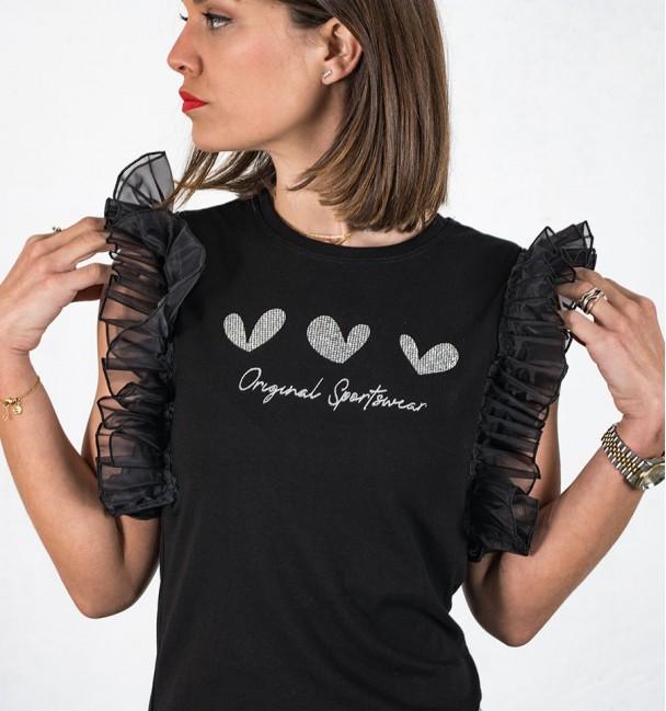Larissa Black Shirt