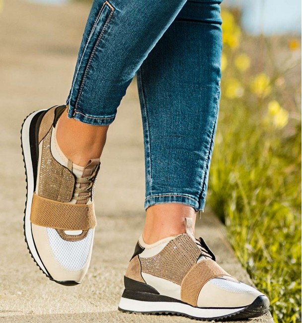 Olimpo Taupe Sneakers