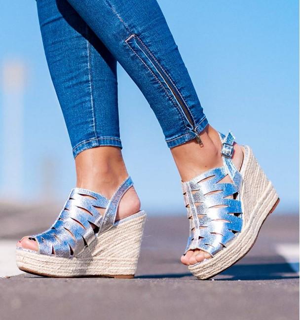 Alassio Women Silver Sandals