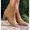 Coba Camel Ankle Boots
