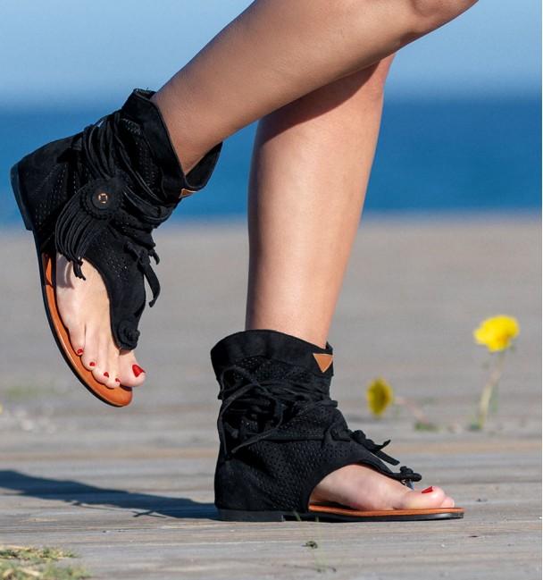 White Boots Sandals Nosara