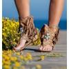 Makanda Camel Boots Sandals