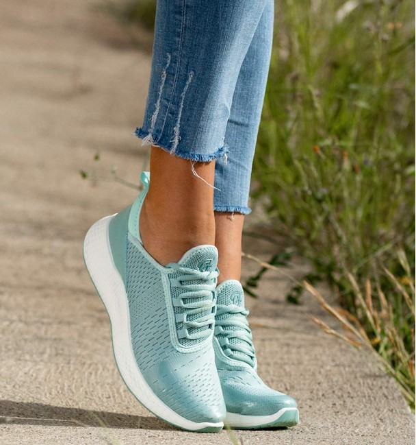 Celes Blue Sneakers