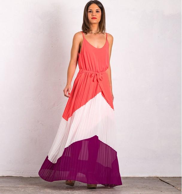 Dress Montein Coral