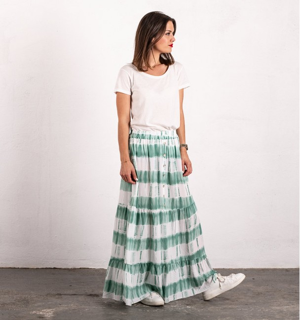 Acumal Green Skirt