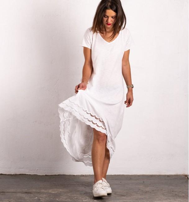 Vestido Cangas Branco