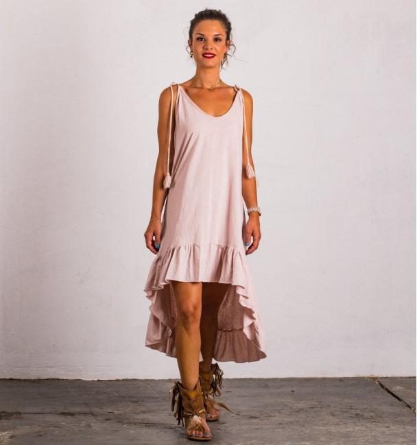 Vestido Easy Rosado