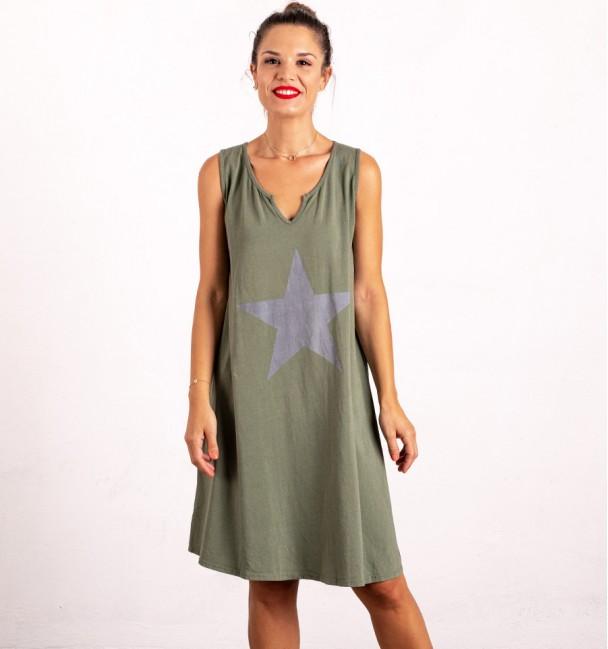 Alderamin Dress Khaki