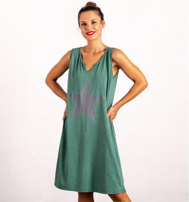 Alderamin Dress Green