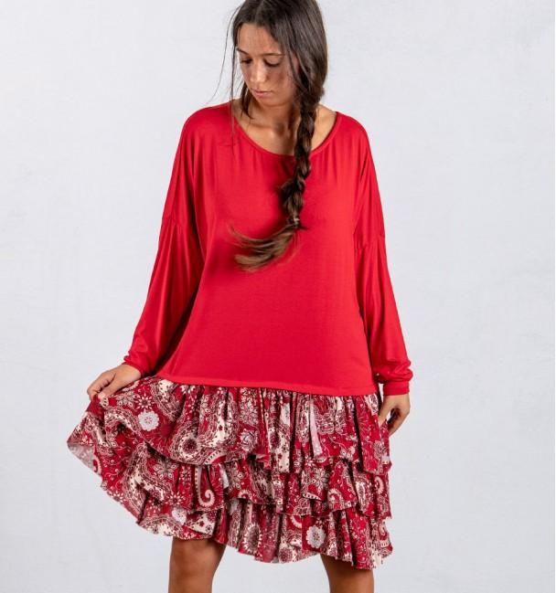 Vestido Agaram Vermelho