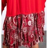 Agaram Red Dress