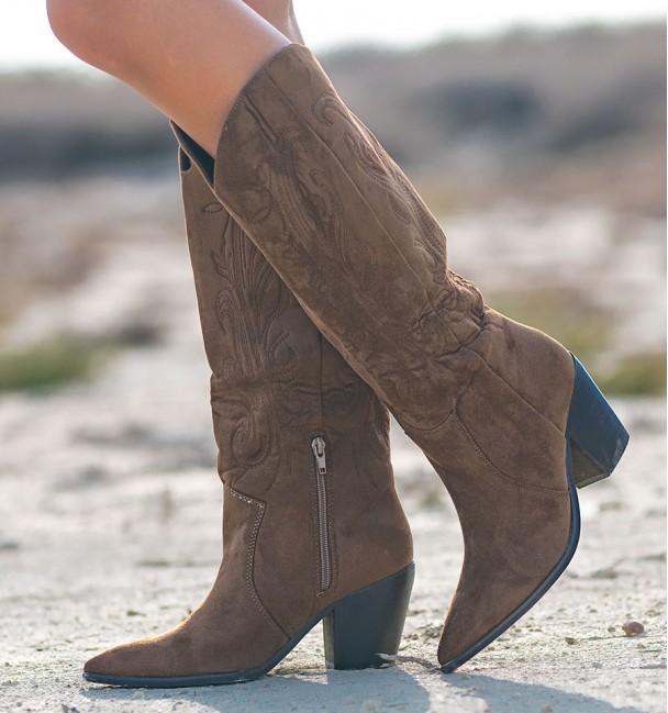Venosta Brown Boots