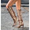 Pretty High Boots Brown