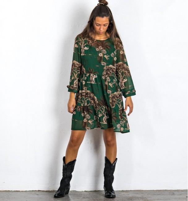 Vestido Bromelia Verde