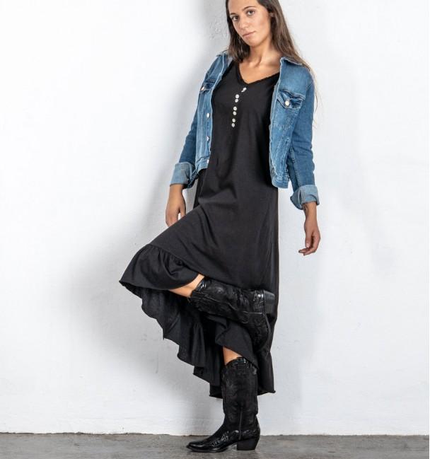 Vestido Indore Preto