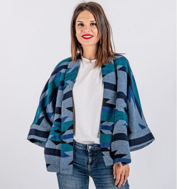 Jaqueta Azul Salman