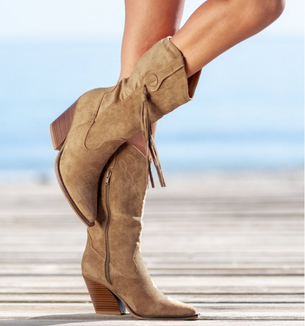 Bitty Camel Boots