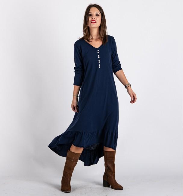 Vestido Indore Azul