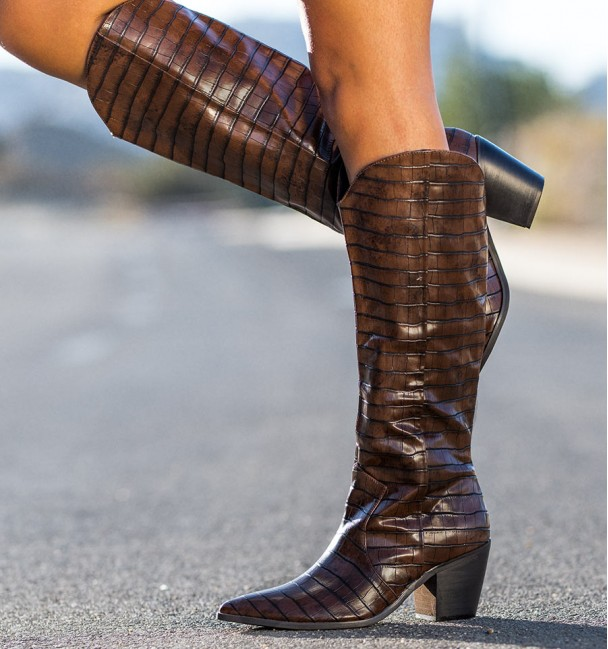 Canoy Brown Boots