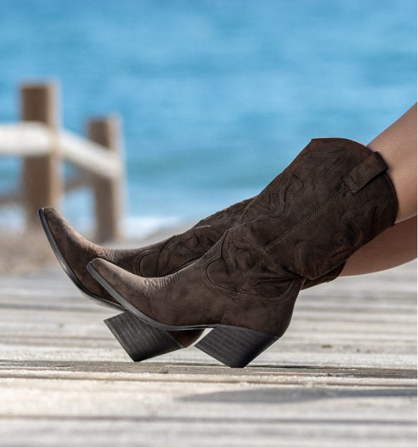 Tejas Coffee Boots