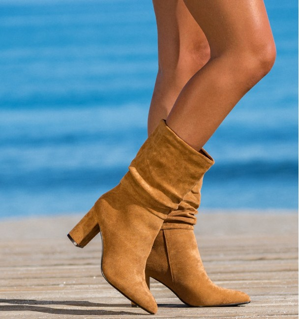 Cosenza Camel Boots