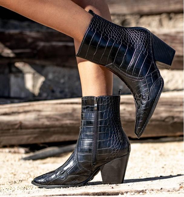 Warren Black Boots