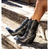 Rivoli Black Boots