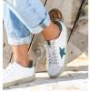 White Green Lyra Sneakers