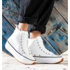 Basket White Sneakers