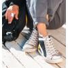 High Black Sneakers Tabit