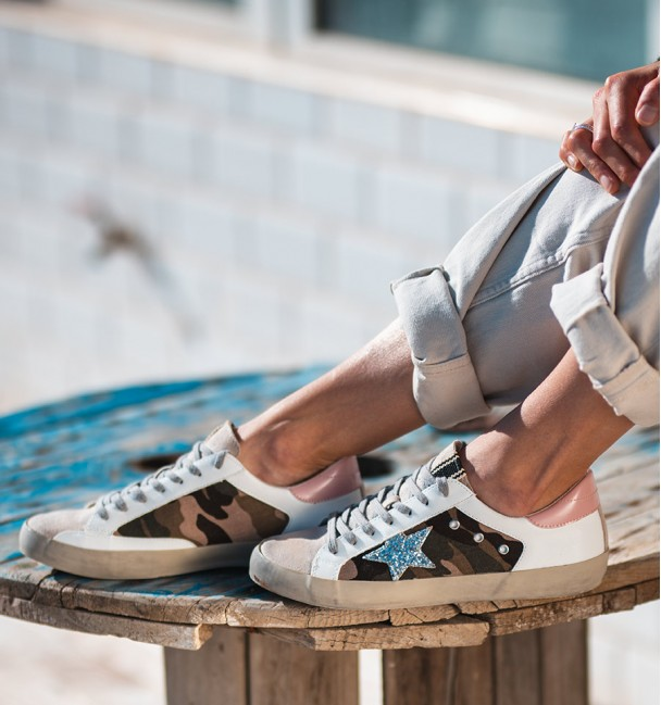 Camouflage Lyra Sneakers