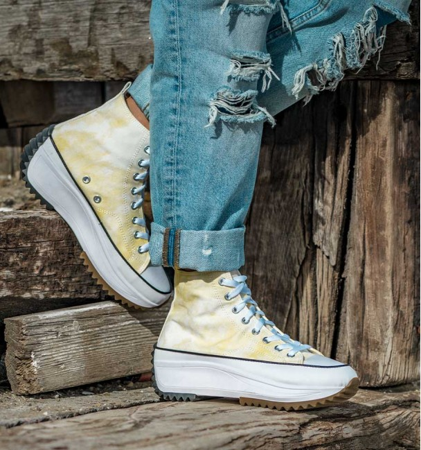 Basket Faded Yellow Sneakers