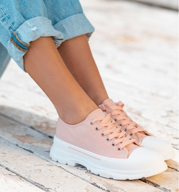 PINK TRAINERS MON