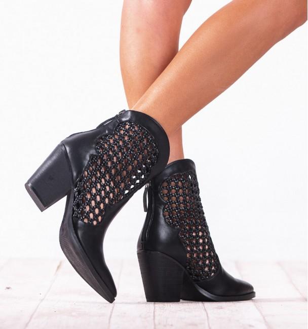 Rex Black Boots