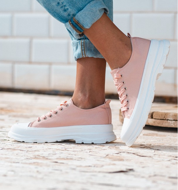 PINK LINEOFF TRAINERS MON