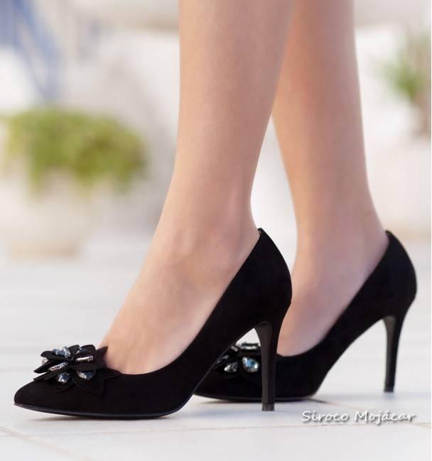 Zapatos de fiesta Paris Negro