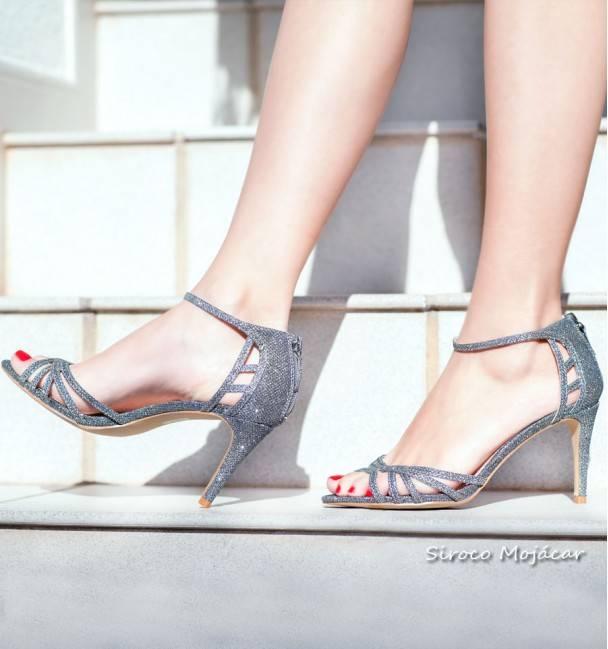 Zapatos de fiesta Blondie Plata