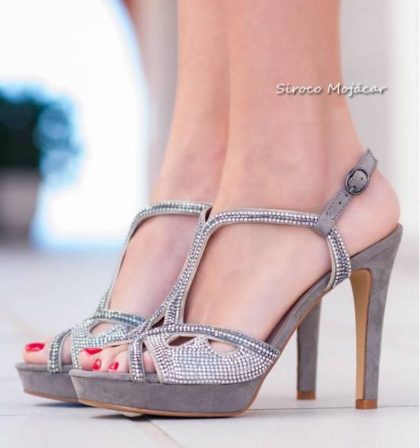 Zapatos de Fiesta Porto Taupe