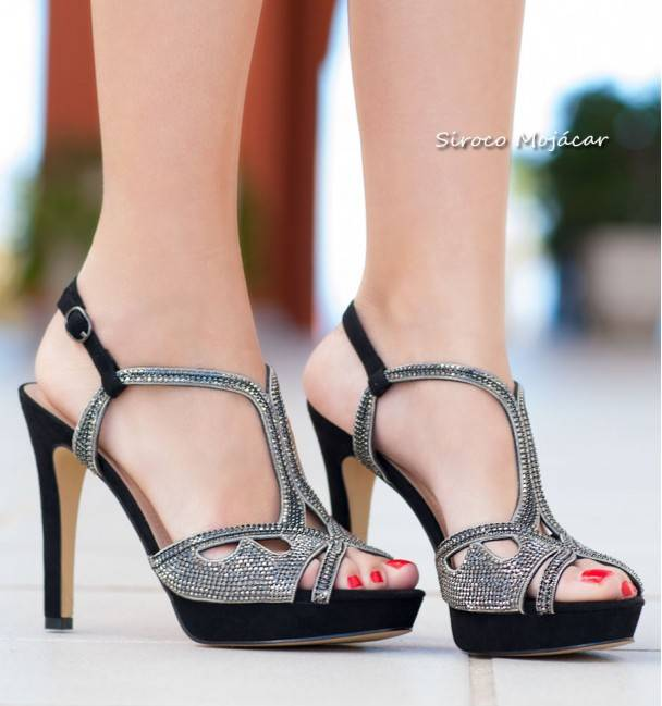 Zapatos de Fiesta Porto Negro