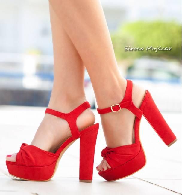 Zapatos de fiesta Lossy rojo