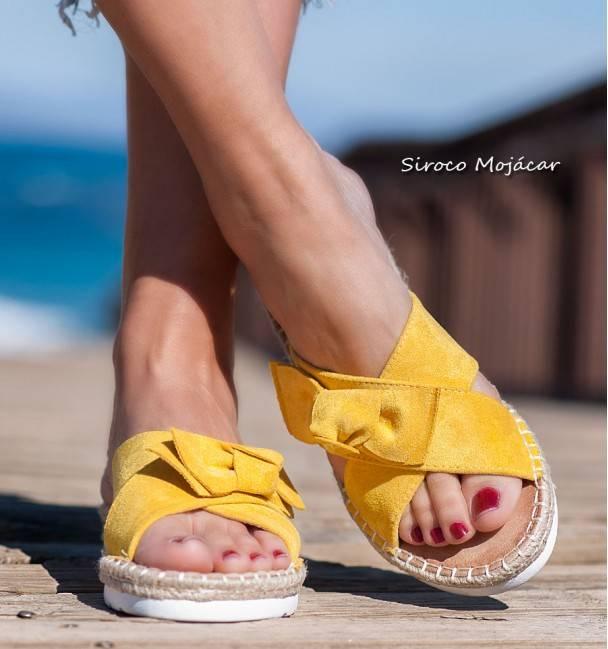 Sandalias Baracoa Yellow