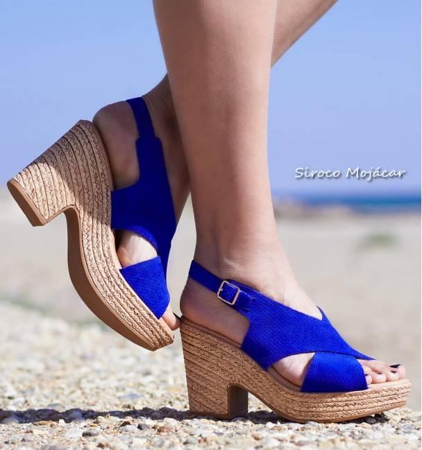 Sandalias Palmire azul