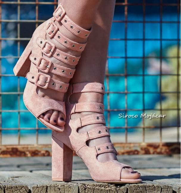 Sandalias Elvis Pink