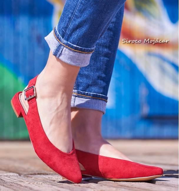 Zapatos Margot Rojo