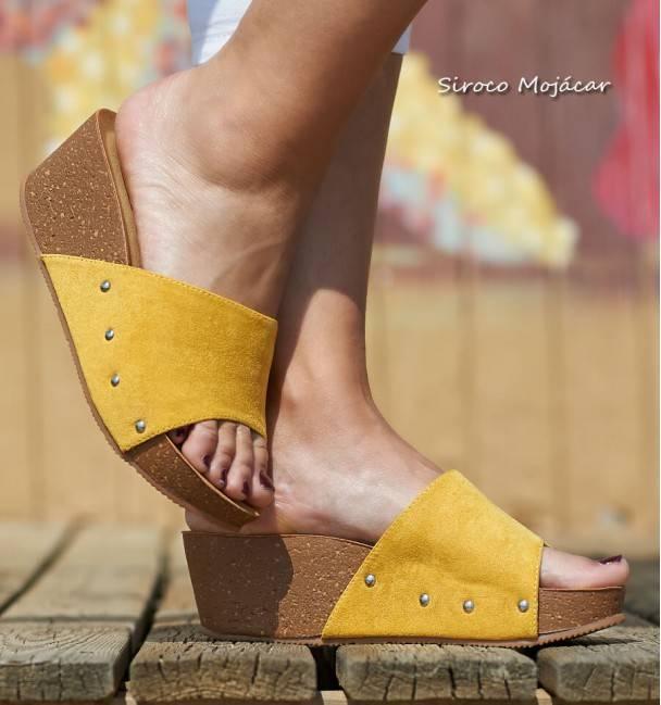 Sandalias Crociata Yellow