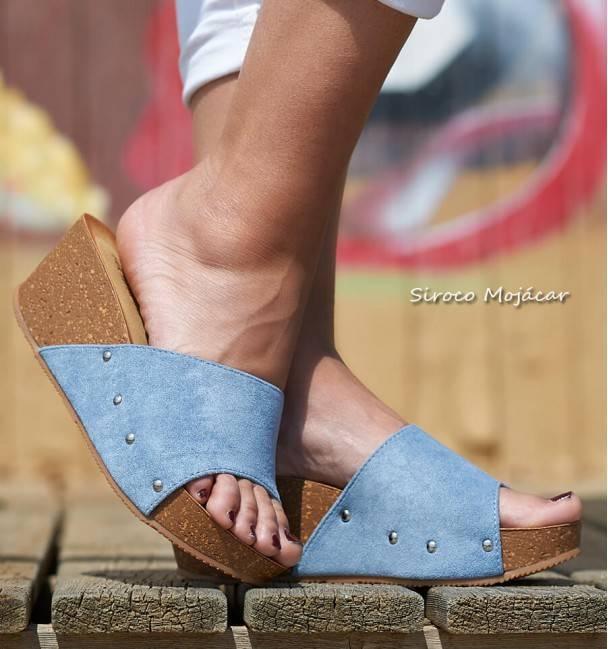 Sandalias Crociata Blue