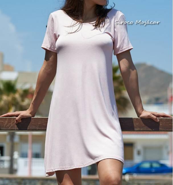 Vestido Nina rosa