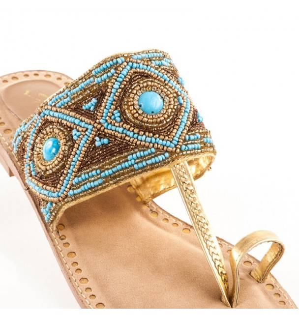 Sandalias Indalas Turquoise