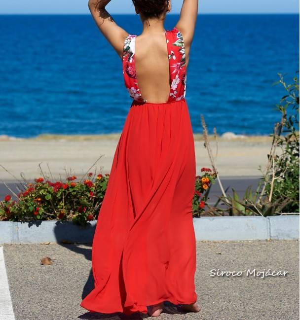 Vestido Abrazzo Rojo